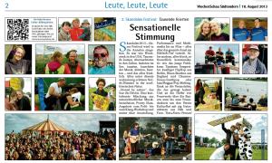 Zeitungsbericht WS 18.8.2013